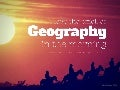 The Music of Geography!