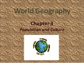 Geography - Population