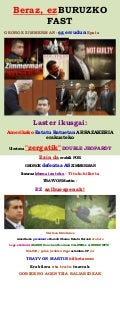 GEORGE ZIMMERMAN'S NOT GUILTY VERDICT - NOT SO FAST (basque)