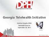 Georgia 2013 telehealth presentation