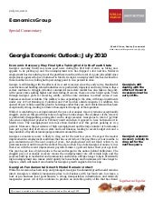 Georgia Economic Outlook By Vitner ...