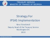 Georgia ipsas strategy for ipsas im...