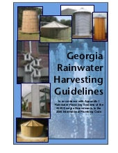 Georgia Rainwater Harvesting Manual