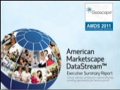 Geoscape   American Marketscape Datastream 2011 Executive Summary