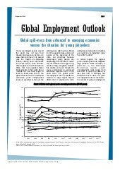 Global employment outlook newslette...