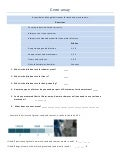 Germ Worksheet /Understanding Ratios