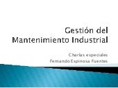 Gestion del mantenimiento industrial
