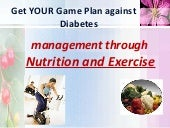 Get YOUR Game Plan against Diabetes