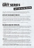 Les Mills GRIT - Getting Started Brochure
