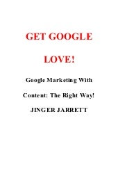 Get Google Love: Google Marketing W...