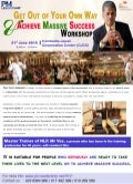 Get out of your own way & achieve massive success workshop