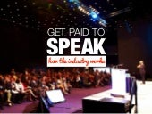 Get Paid to Speak: How the Speaker Industry Works