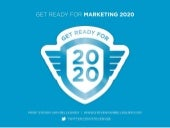 Get ready for Marketing 2020