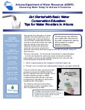 Get Started with Basic Water Conser...