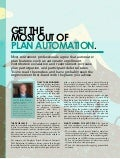 Get the Most Out of Plan Automation