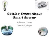 Getting Smart About Smart Energy