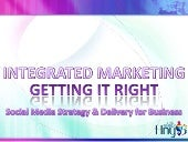 INTEGRATED MARKETING - GETTING IT R...