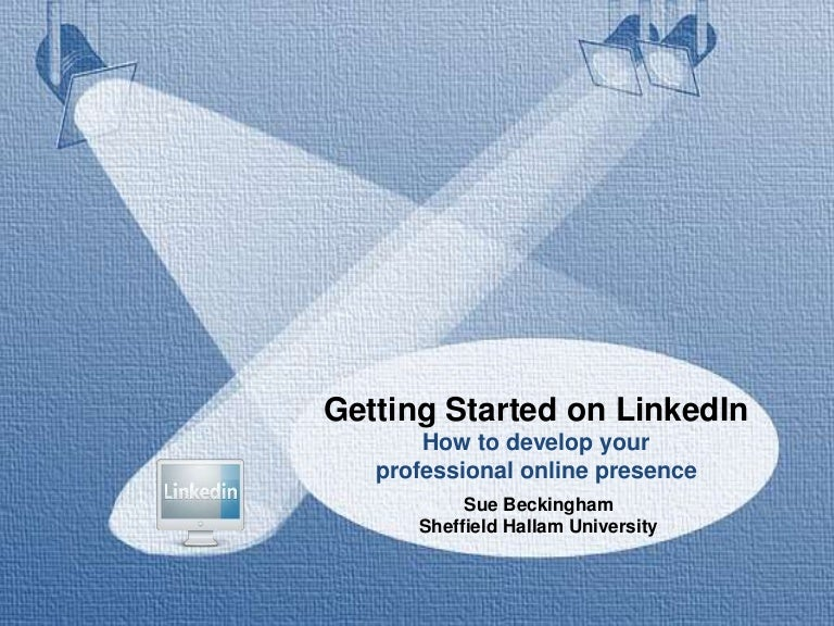 Getting started on LinkedIn
