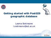 Getting started with PostGIS geogra...