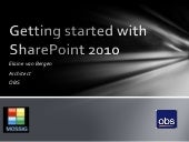 Getting Started With Share Point 2010