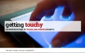 Getting touchy - an introduction to touch and pointer events (complete master set) / 9 September 2015