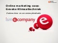 Online marketing case: Geveke klimaattechniek