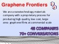 Graphene Frontiers Final NSF I-Corps Presentation