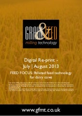 FEED FOCUS: Pelleted feed technolog...