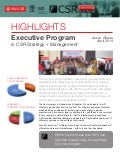 Report on Ghana Executive Program in CSR Strategy & Management (April 2014)