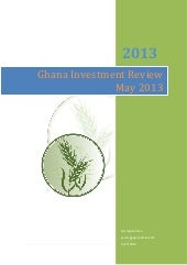 Ghana investment review May 2013 | ...