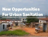 Ghana sanitation opportunities