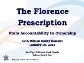 Joe Tye presentation to Georgia Hospital Association Patient Safety Summit with video links