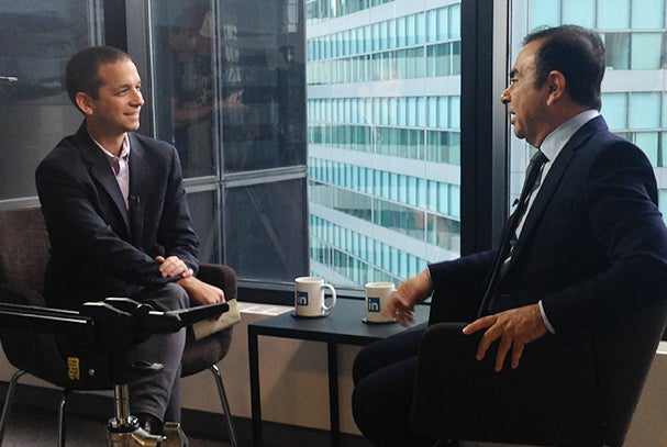 We Ask Carlos Ghosn of Nissan & Renault: How Do You Run Three Companies and Stay Human?