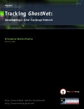 Tracking GhostNet: Investigating a ...
