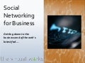 Social Networking for Business - GIBS July 2008