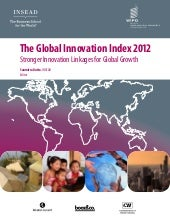 Global Innovation Report 2012