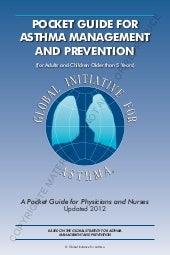 Gina pocket guide for asthma manage...