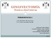 Gingivectomia bisel interno
