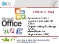 Office & VBA - Giorno 1