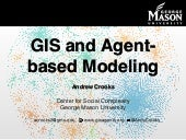 GIS and Agent-based modeling: Part 1