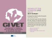 Gi vet project   newsletter 1