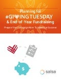 Giving tuesday workbook
