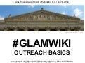 Glamcamp dc glamwiki outreach basics