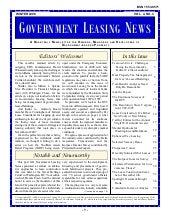 Government Leasing News Winter 2008