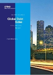 Global debt-sales