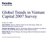 Global Trends In Venture Capital 20...