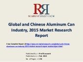Aluminum Can Industry World & Chinese Research Report 2015-2020