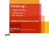 Cities of the future - Jan Sturesson