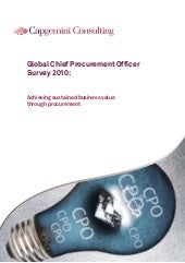 Global Chief Procurement Officer Survey 2010  Final Web Edition