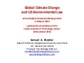 Global climate change and us enviro...